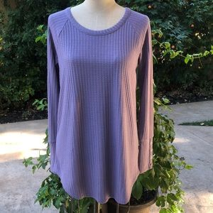 🌸3/$25 Chaser long waffle weave  thermal top